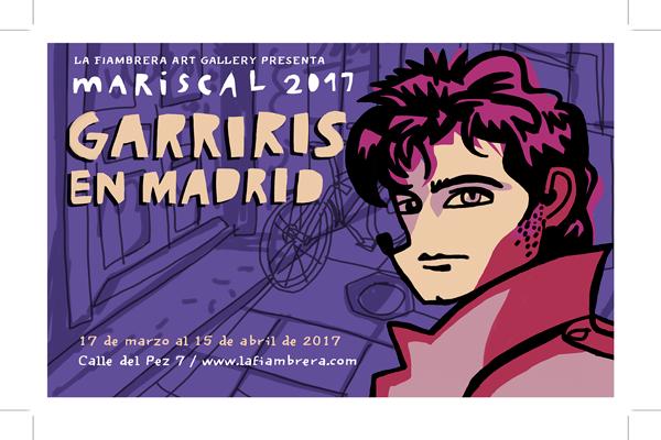 la fiambrera_ reparto de flyers_ Garriris en madrid_pegada carteles