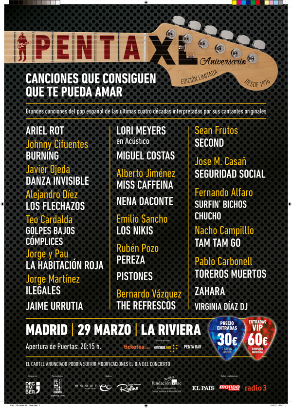 Penta XL_Cartel A3_mondo-sonoro_flyers_PEGADA DE CARTELES_Madrid
