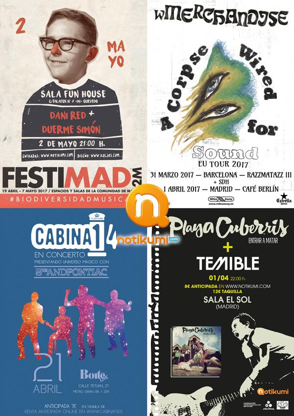 notikumi_marzo_A3_madrid_Mondo Sonoro_pegada de carteles_flyers