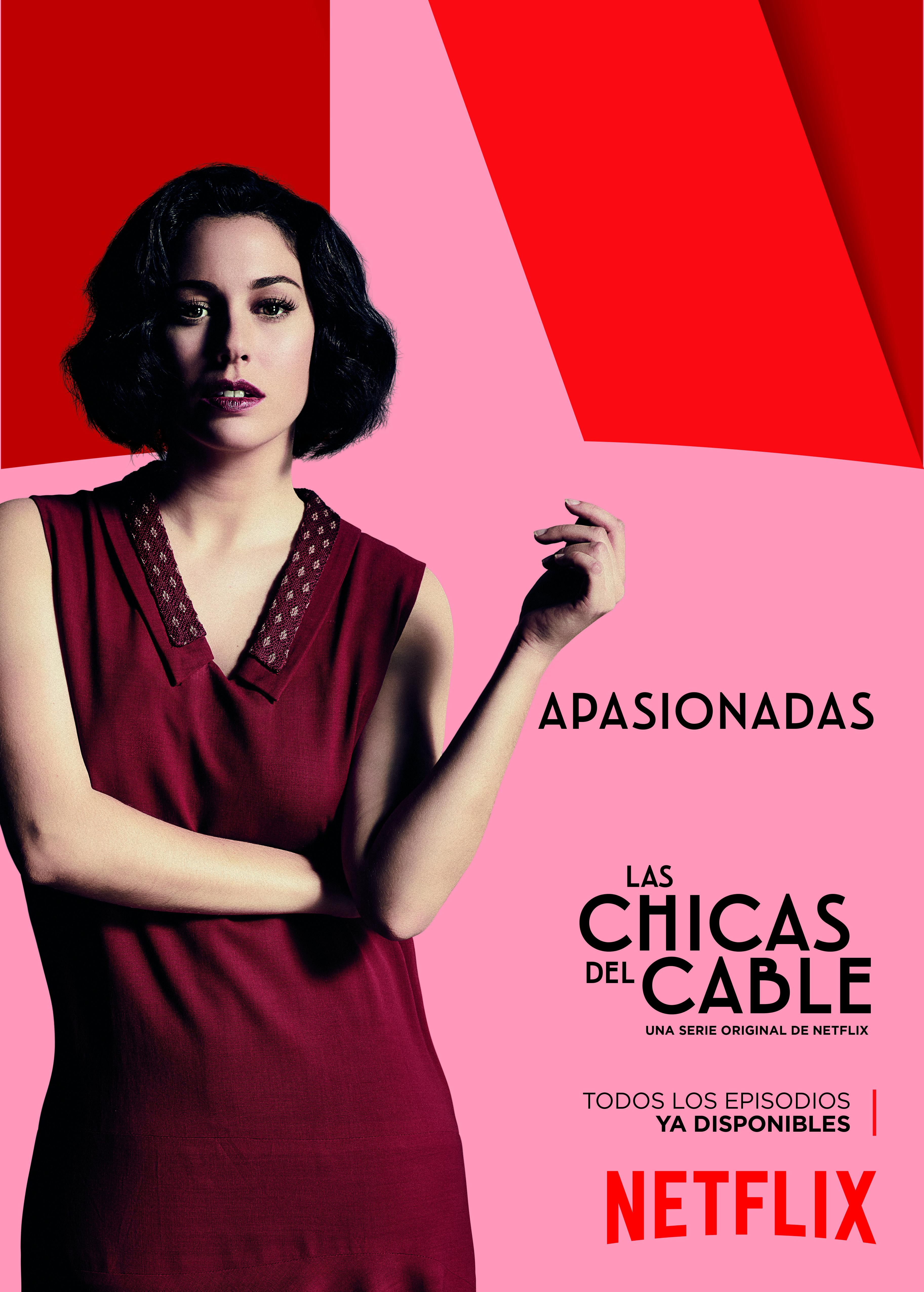as_chicas_del_cable_Netflix_mondo_sonoro_Apasionadas_pegada_carteles