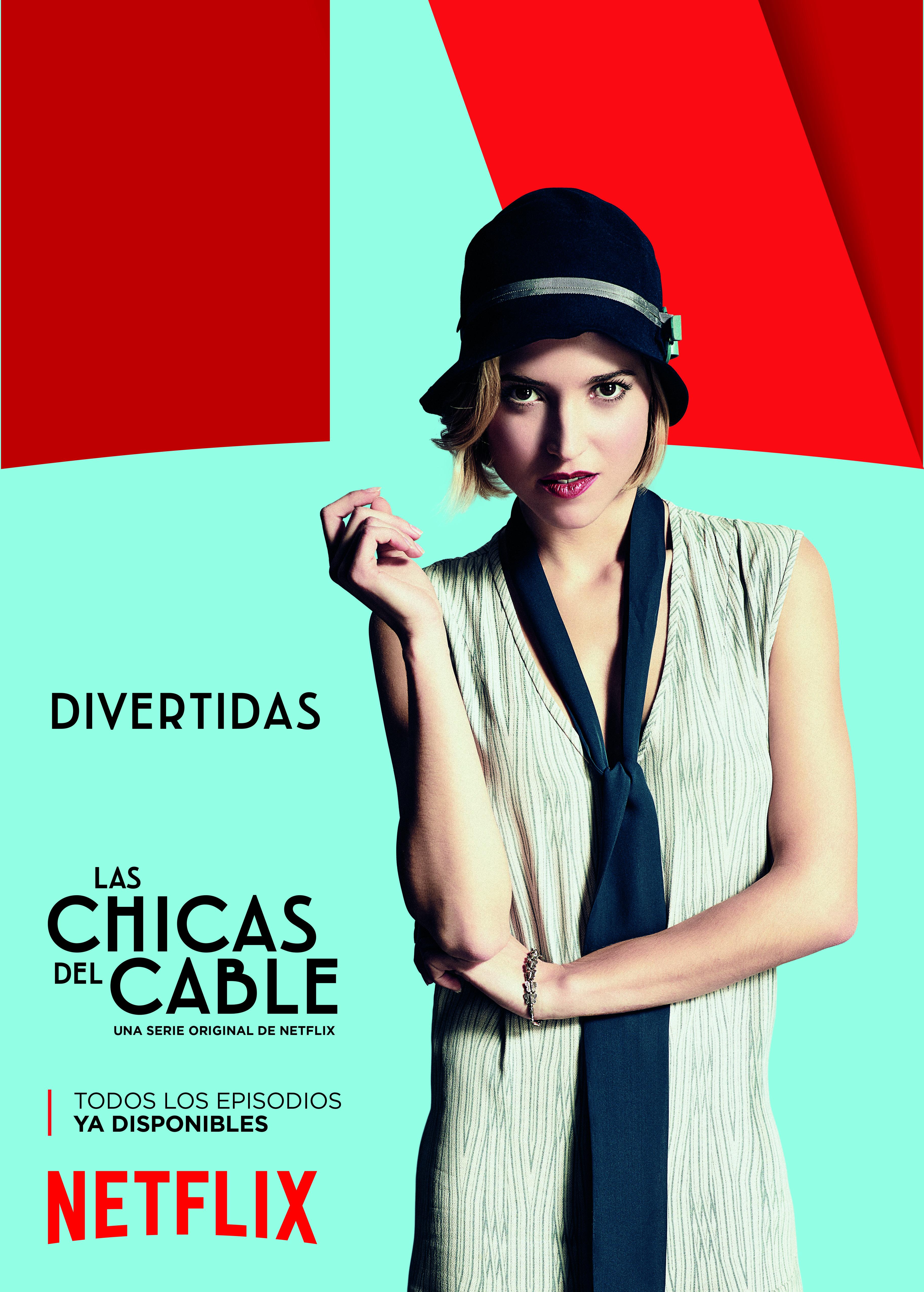 las_chicas_del_cable_Netflix_mondo_sonoro_divertidas_pegada_carteles