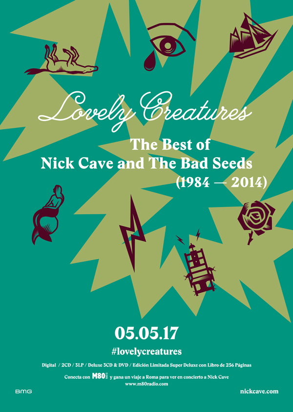 NICKCAVE_A3_mondo_sonoro_pegada_carteles_Lovely_flyers