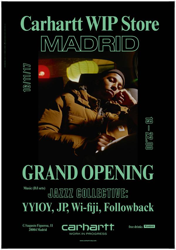 Carhartt_Store_Madrid_carteles_opening_mondo_sonoro