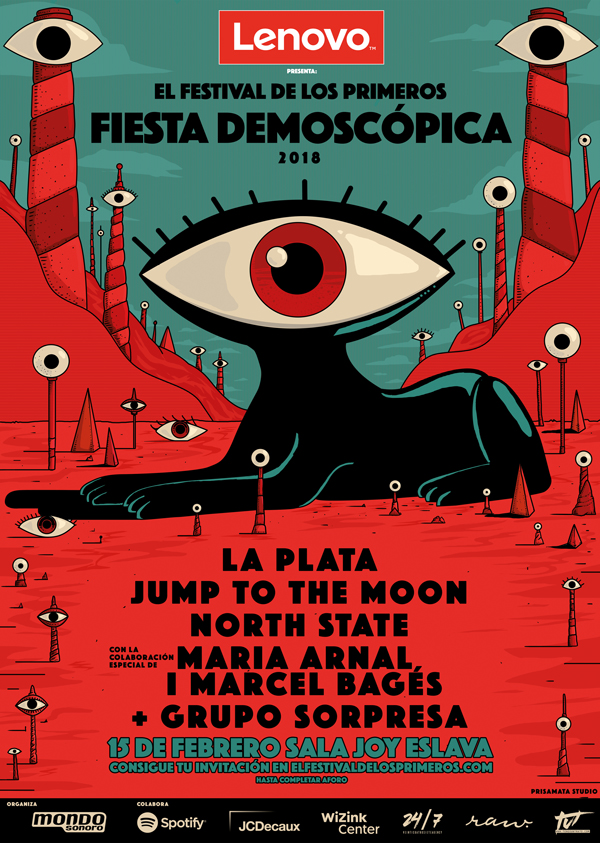 DEMOSCOPICA_MONDO_SONORO_MADRID_FEBRERO_PEGADA_CARTELES